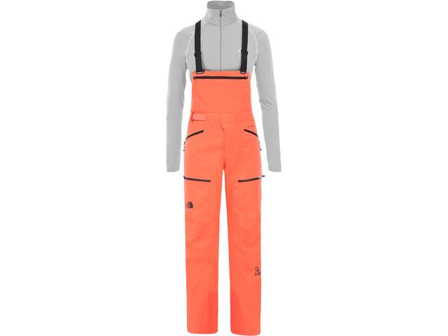 The North Face Purist Bib Pants Dame Radiant Orange